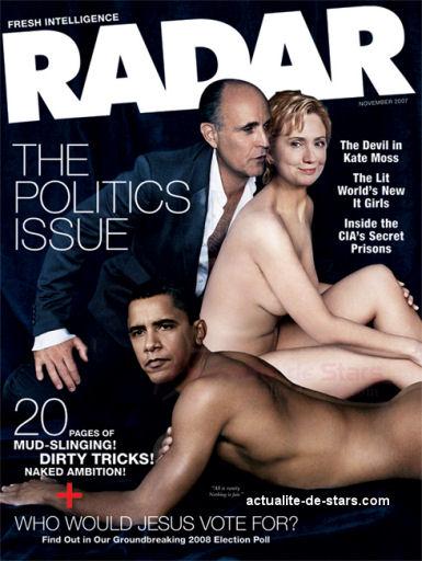 Sexy présidentiables