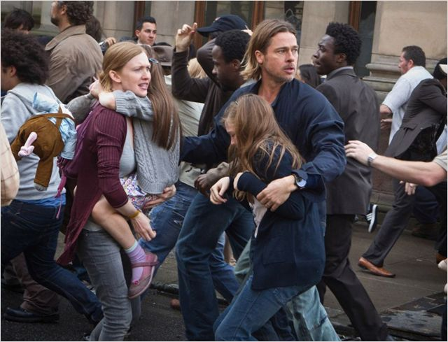 world war z brad pitt mireille enos