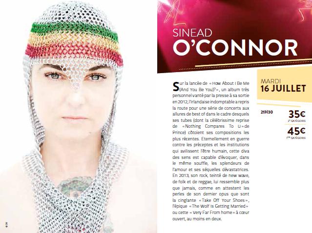 sinéad o'connor 2013