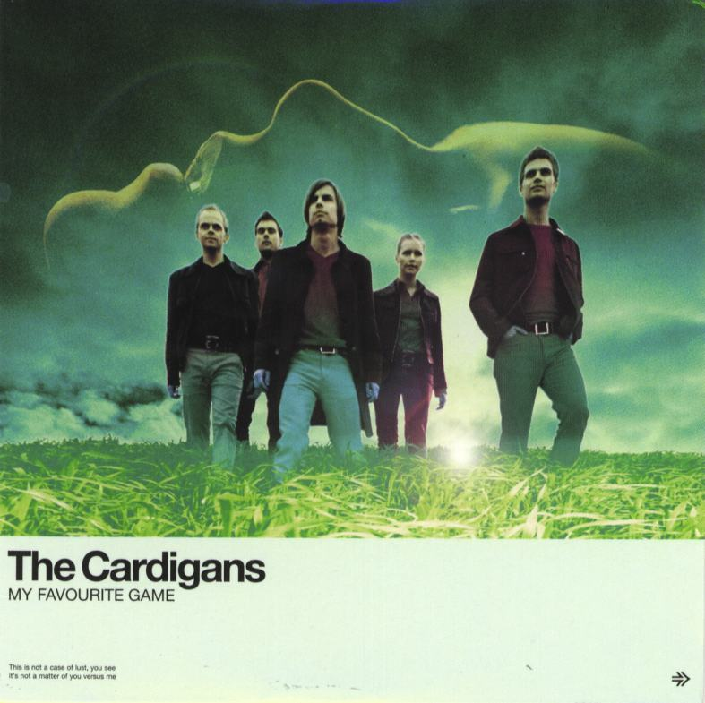 the cardigans single cover
