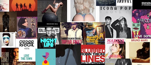 50 songs of 2013