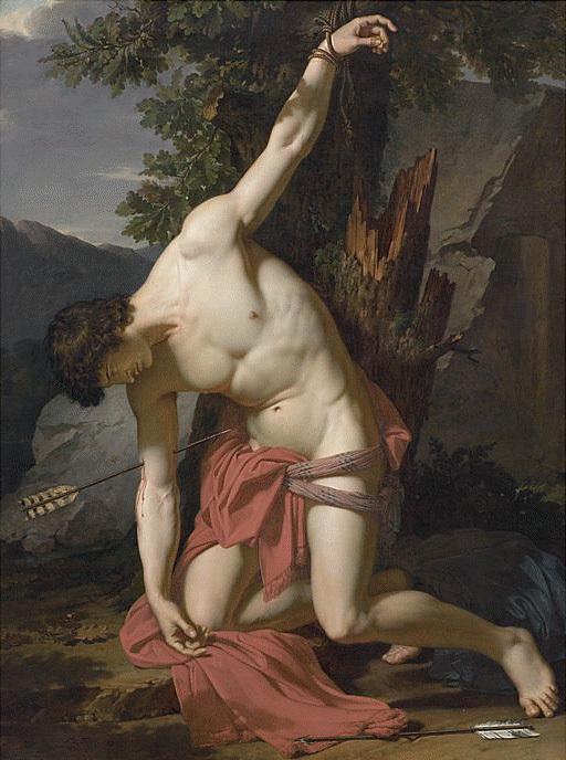 francois-xavier-fabre-the-dying-saint-sebastian