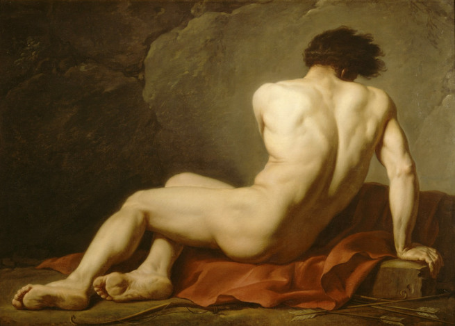 jacques-louis-david-study-of-a-man-1778