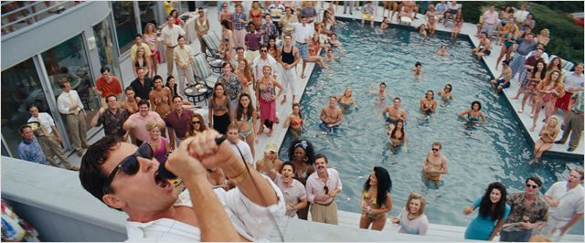 wolf of wall street pool party
