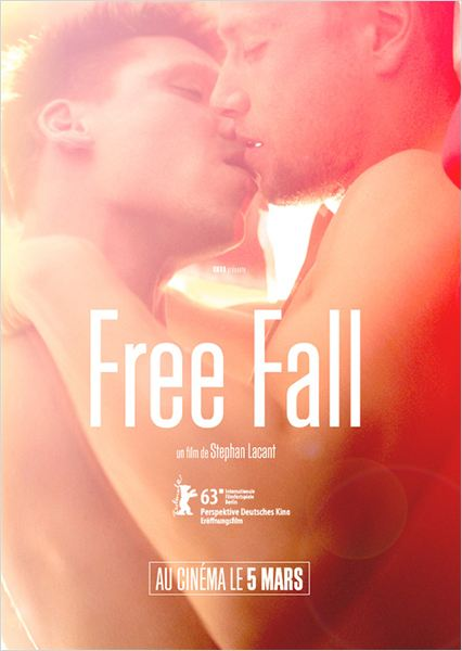 free fall poster france