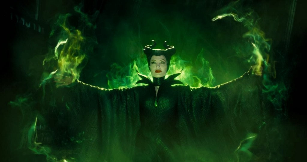 maleficent green angelina