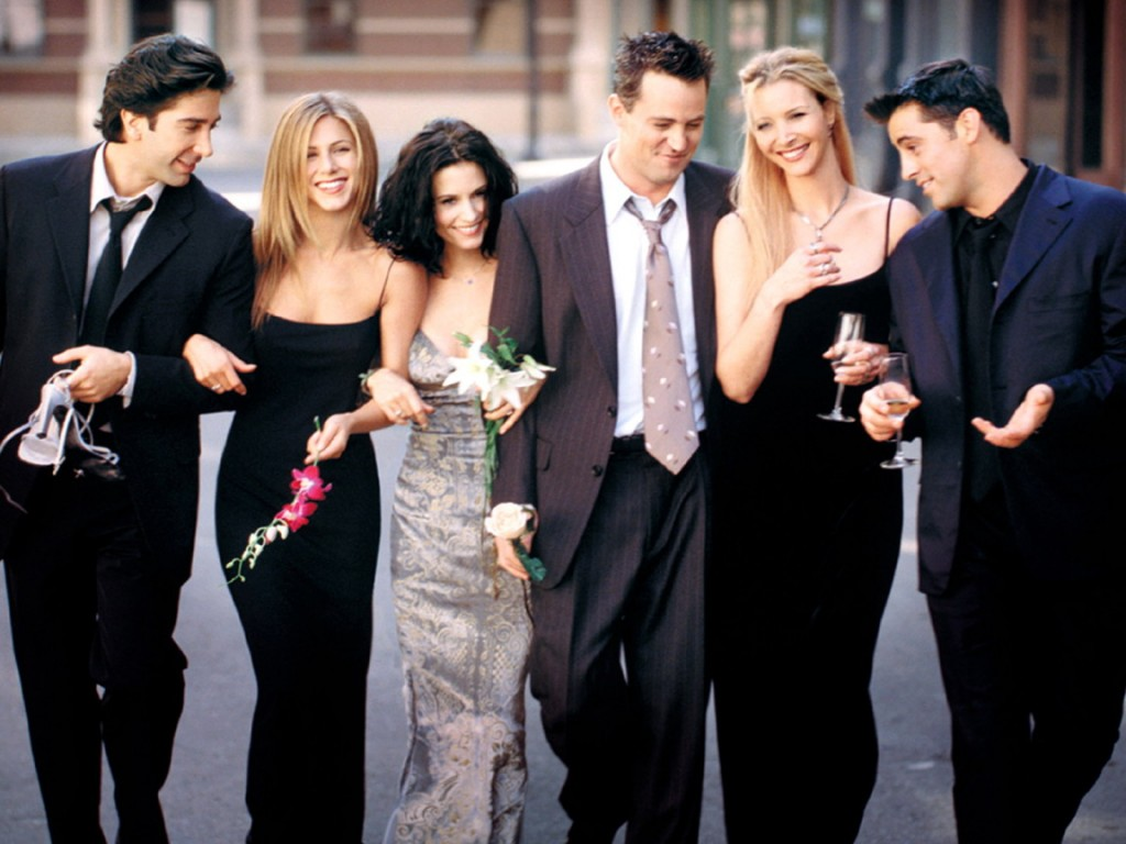 FRIENDS -- NBC Series -- Keyart -- NBC Photo