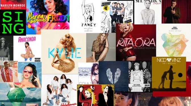 Les 50 chansons de 2014