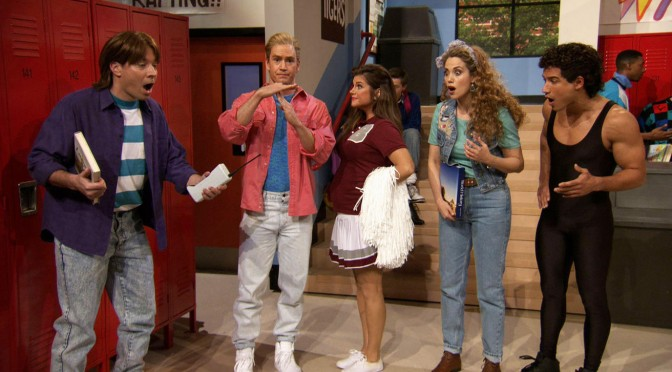Jimmy Fallon x Saved By The Bell
