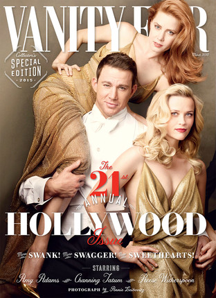 vanity fair hollywood issue 2015 cover