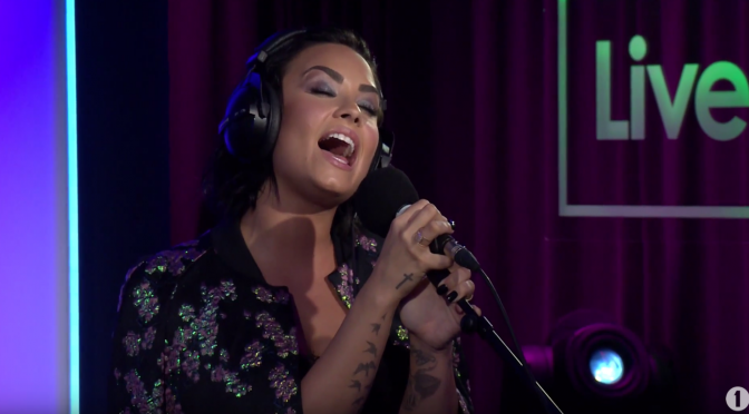 Demi Lovato – Take Me To Church (Live Lounge – BBC 1)
