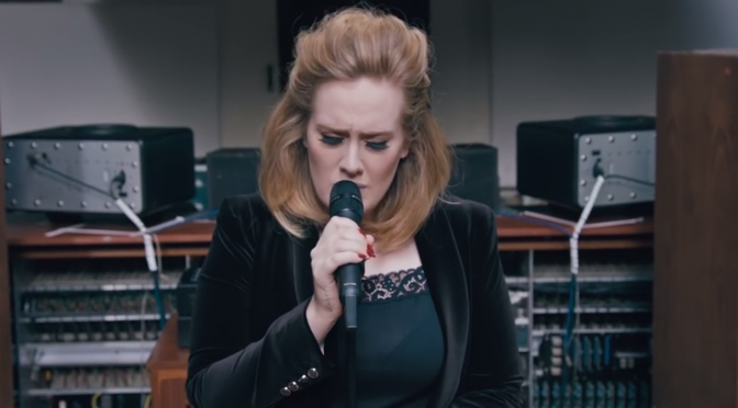 adele when we were young live church studios