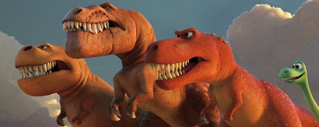 le voyage d'arlo tyrannosaure