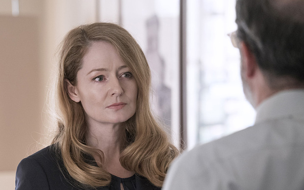 Homeland: Series 5 Episode 2 Channel 4 (wk43) handout ... Miranda Otto as Allison Carr in Homeland