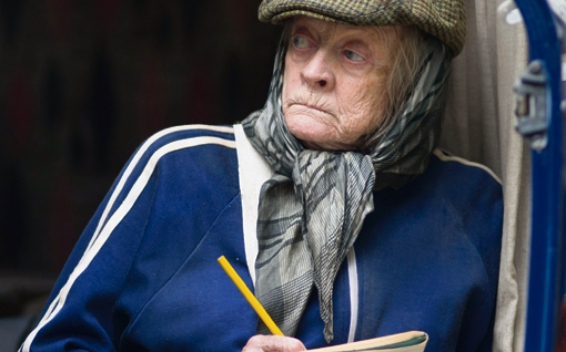 the Lady in the van maggie smith film
