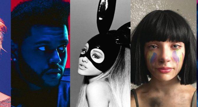 Les 50 chansons de 2016